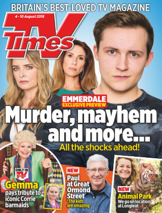 TV Times 4th August 2018