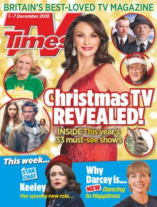 TV Times Dec 1 2018