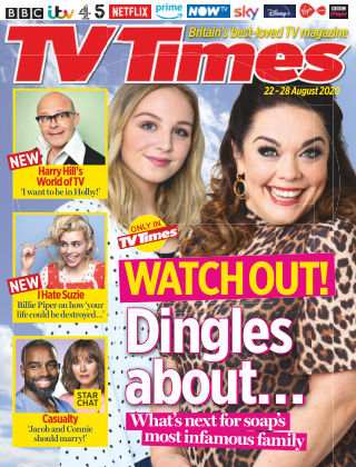 TV Times 22nd August 2020