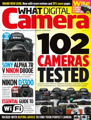What Digital Camera Magazine March 2014