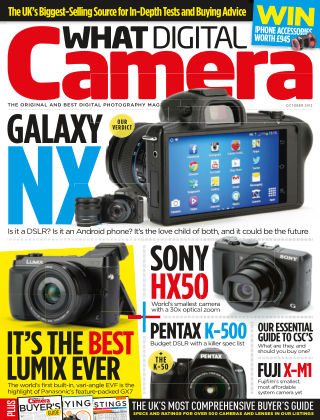 What Digital Camera Magazine October 2013