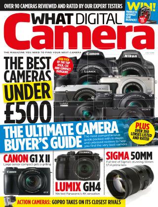 What Digital Camera Magazine July 2014