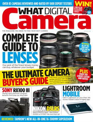 What Digital Camera Magazine August 2014