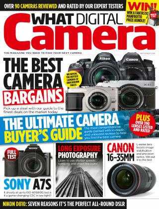 What Digital Camera Magazine September 2014