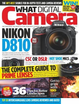 What Digital Camera Magazine October 2014