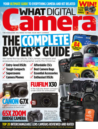 What Digital Camera Magazine Christmas 2014
