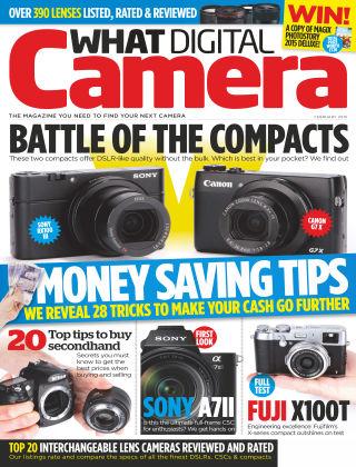 What Digital Camera Magazine February 2015