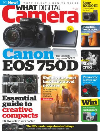 What Digital Camera Magazine August 2015