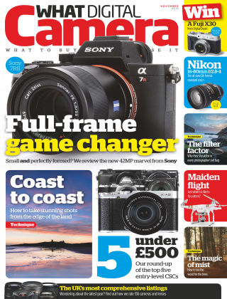 What Digital Camera Magazine November 2015