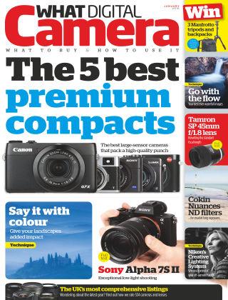 What Digital Camera Magazine January 2016