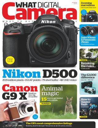 What Digital Camera Magazine March 2016