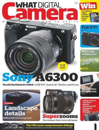 What Digital Camera Magazine June 2016