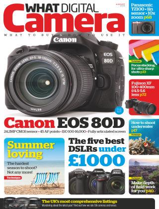 What Digital Camera Magazine August 2016