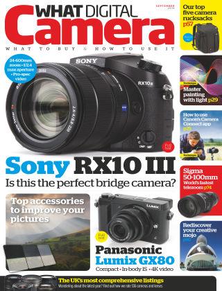 What Digital Camera Magazine September 2016