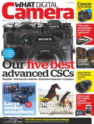 What Digital Camera Magazine November 2016