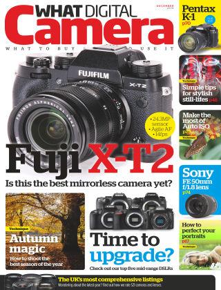 What Digital Camera Magazine December 2016