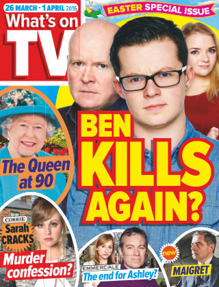 What's on TV 26th March 2016