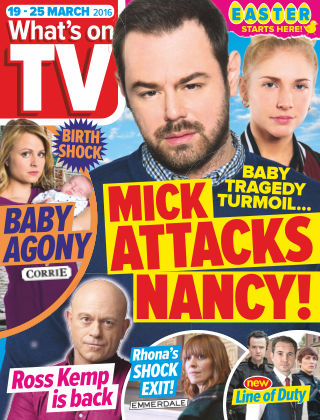 What's on TV 19th March 2016
