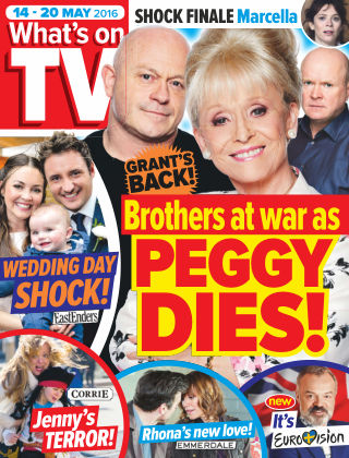 What's on TV 14th May 2016