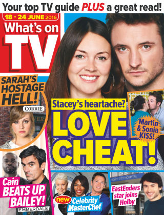 What's on TV 18th June 2016