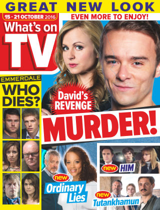 What's on TV 15th October 2016