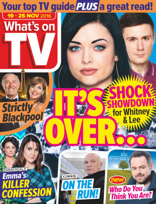 What's on TV 19th November 2016