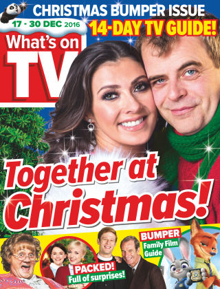 What's on TV 17th December 2016