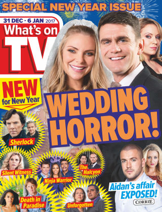 What's on TV 31st December 2016