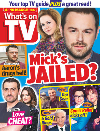 What's on TV 4th March 2017