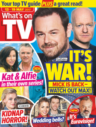 What's on TV 13th May 2017