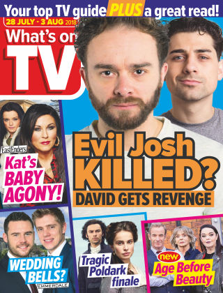 What's on TV 28th July 2018