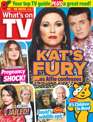 What's on TV 10th November 2018
