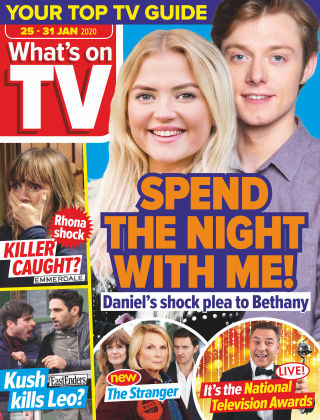 What's on TV Jan 25 2020