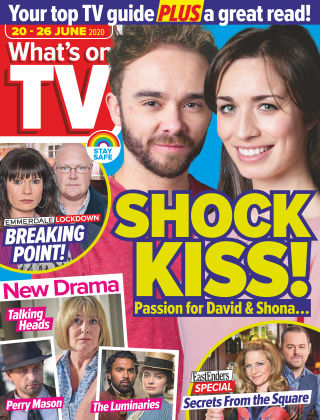 What's on TV 20th June 2020