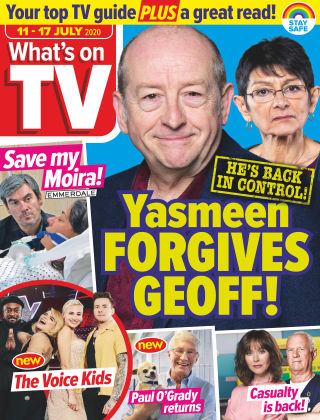 What's on TV 11th July 2020