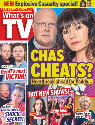 What's on TV 26th September 2020