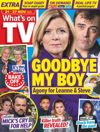 What's on TV 21st November 2020