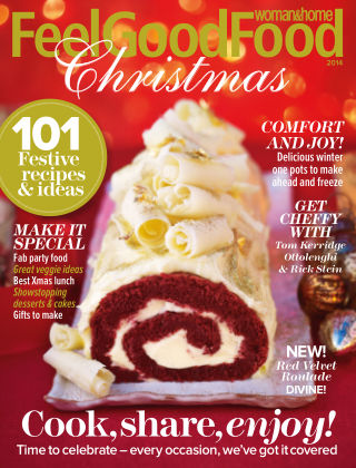 Woman & Home Feel Good Food Magazine Christmas 2014