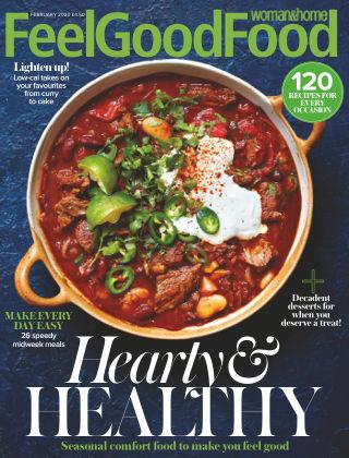 Woman & Home Feel Good Food Magazine Feb 2020