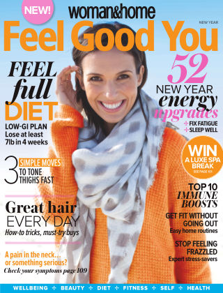Woman & Home Feel Good You Magazine New Year 2015