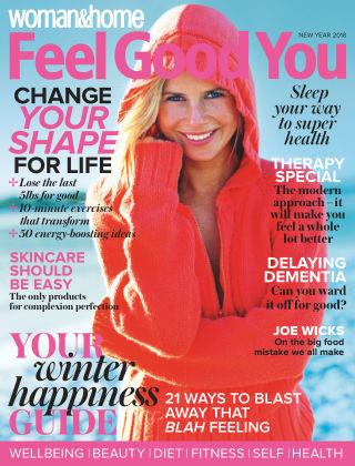Woman & Home Feel Good You Magazine New Year 2018