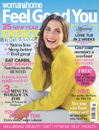 Woman & Home Feel Good You Magazine New Year 2018