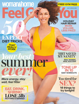 Woman & Home Feel Good You Magazine July 2019
