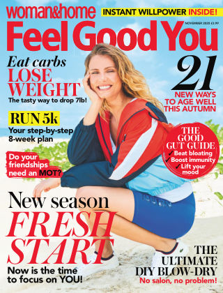 Woman & Home Feel Good You Magazine October 2020