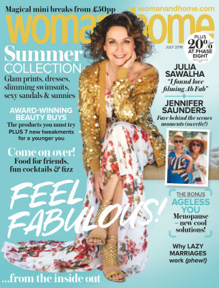 Woman & Home July 2016