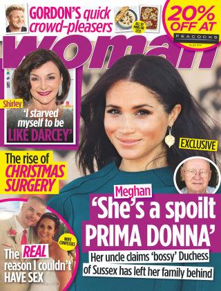 Woman 2nd December 2019