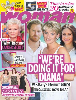 Woman 18th May 2020