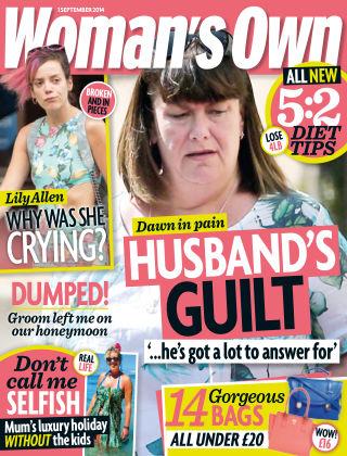 Woman's Own 1st September 2014