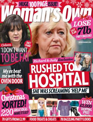 Woman's Own 24th November 2014