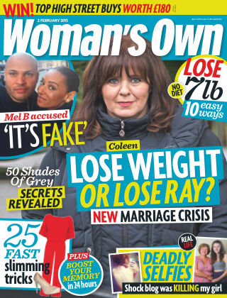 Woman's Own 2nd February 2015